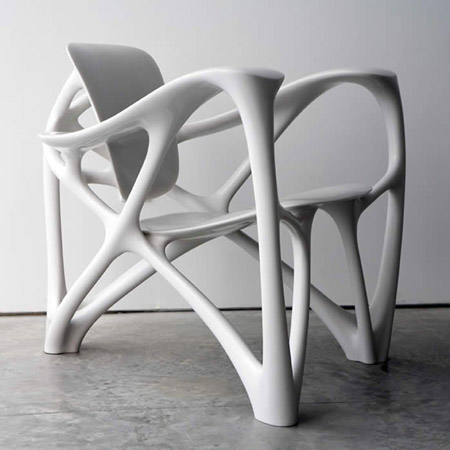 Bone Armchair by Joris Laarman