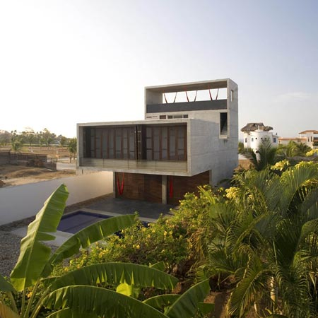 House on the Mexican Pacific Coast by Cadaval & Sola-Morales