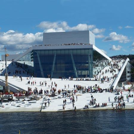 Opera House Oslo by Snøhetta