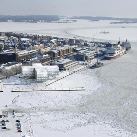 Helsinki Waterfront Hotel by Herzog & de Meuron