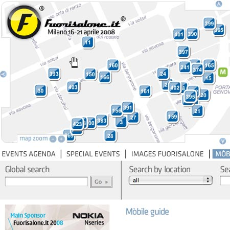 Fuorisalone.it digital guide to Milan