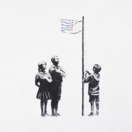 Banksy on Essex Road