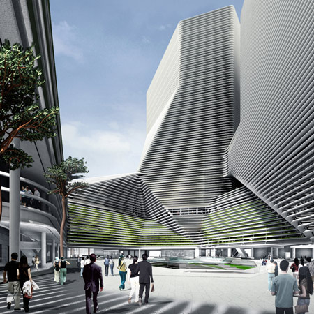 New Seoul City Hall by Mass Studies