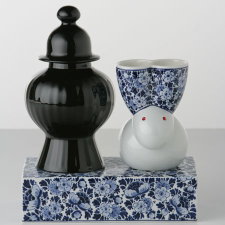 Delft Blue vases by Marcel Wanders