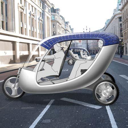 Solar rickshaw by SolarLab