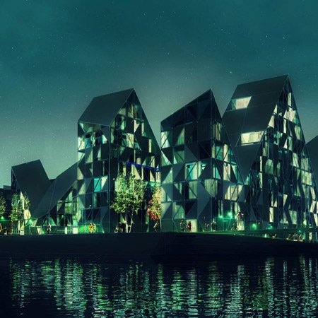 Iceberg project by JDS Architects and CEBRA