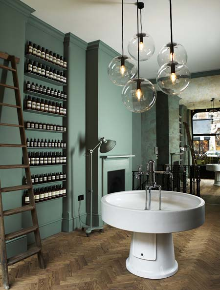 Aesop store by studioilse dezeen Bathroom design jobs london