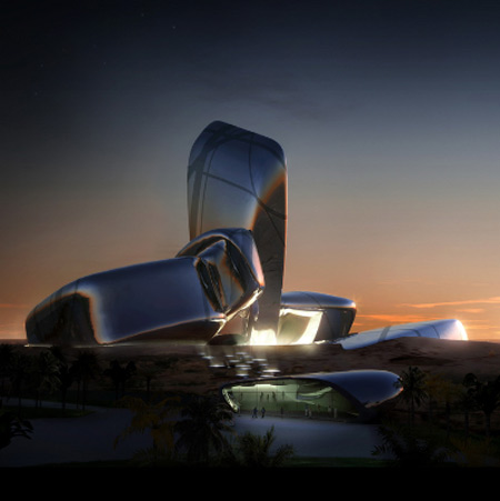 King Abdulaziz Center for Knowledge and Culture by Snøhetta