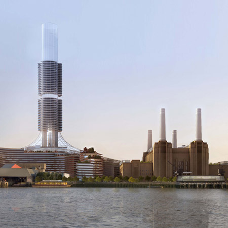 Battersea Power Station redevelopment by Rafael Viñoly Architects