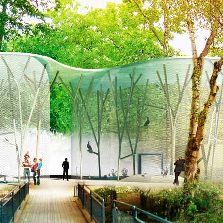 Aviary by Group8 with Guscetti & Tournier structural engineering