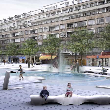 H2o Bench By H2o Architectes