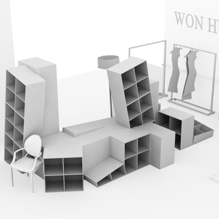 Won Hundred store by MAPT