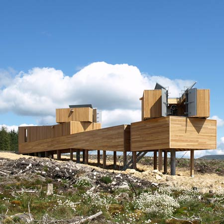 Kielder Observatory by Charles Barclay Architects