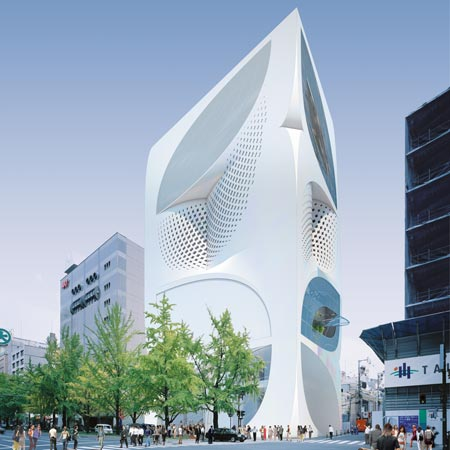 Louis vuitton flagship store by unstudio dezeen for Architecture tokyo
