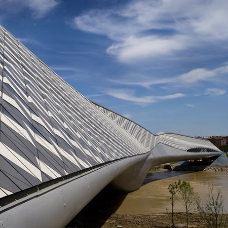 Zaragoza Bridge Pavilion by Zaha Hadid 2