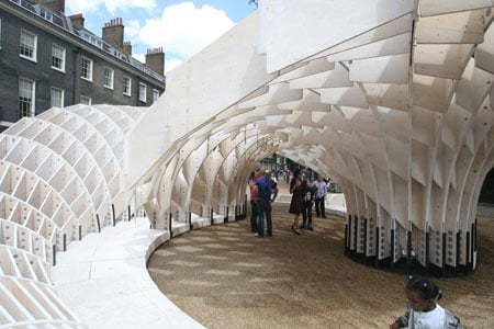 Charmant Swoosh Pavilion At The Architectural Association Ry4f0603