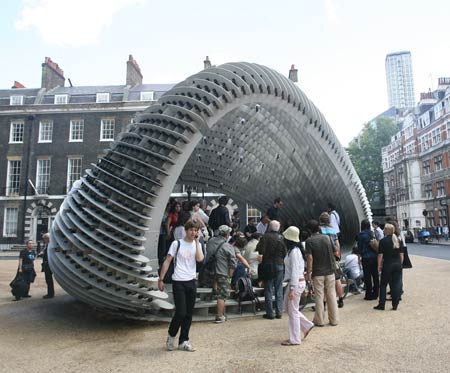 Charmant Swoosh Pavilion At The Architectural Association Ry4f0793