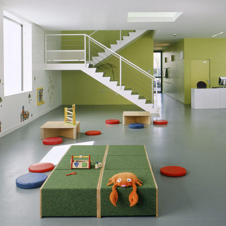 Toy library in Bonneuil-sur-Marne by LAN Architecture 2