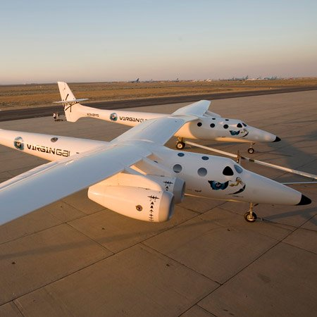 WhiteKnightTwo by Virgin Galactic