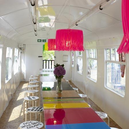 Deptford Project Café by Morag Myerscough