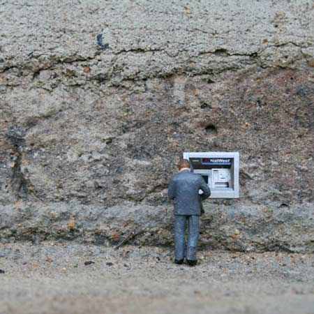 Ground Zero by Slinkachu