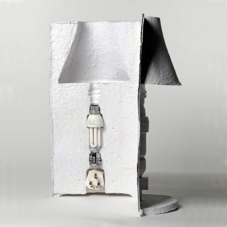 Packaging Lamp by David Gardener