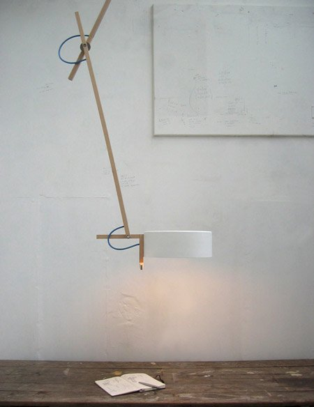 Scantling lamps by mathias hahn dezeen scantling ceiling lamp sg mozeypictures Image collections