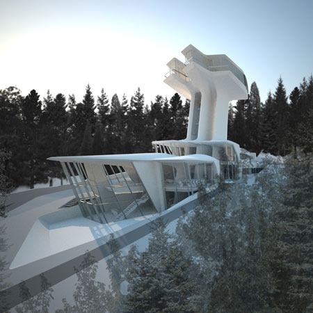 Capital Hill Residence by Zaha Hadid Architects