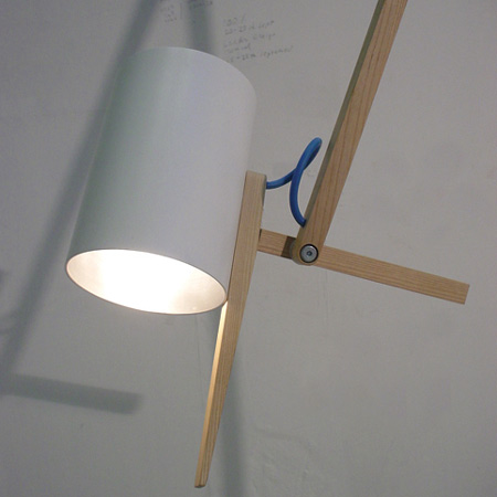 Scantling lamps by Mathias Hahn