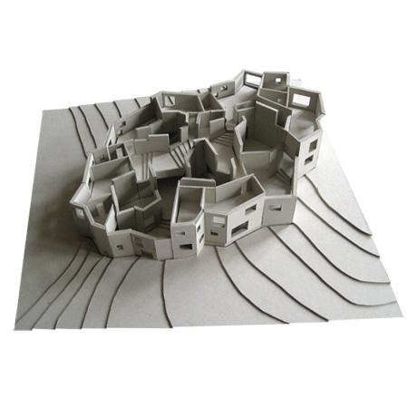 Ordos 100 villa by Luca Selva Architects