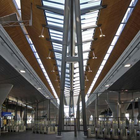 Bijlmer Station by Grimshaw