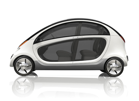 Car brand Chrysler have re-designed the GEM Peapod