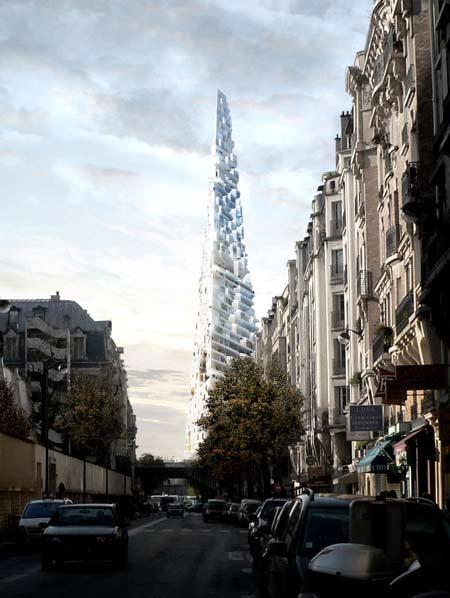 Herzog & de Meuron bygger en triangel i Paris