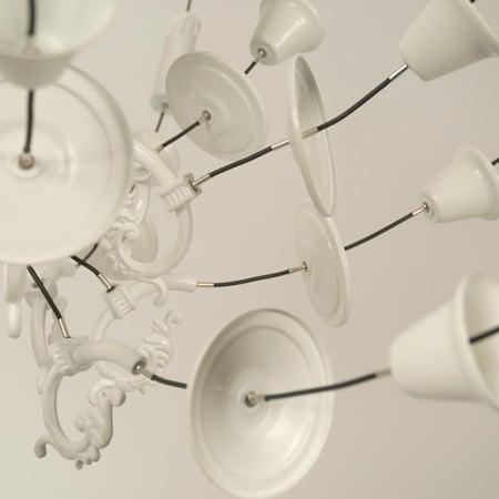Exploded chandeliers by Ward van Gemert | Dezeen