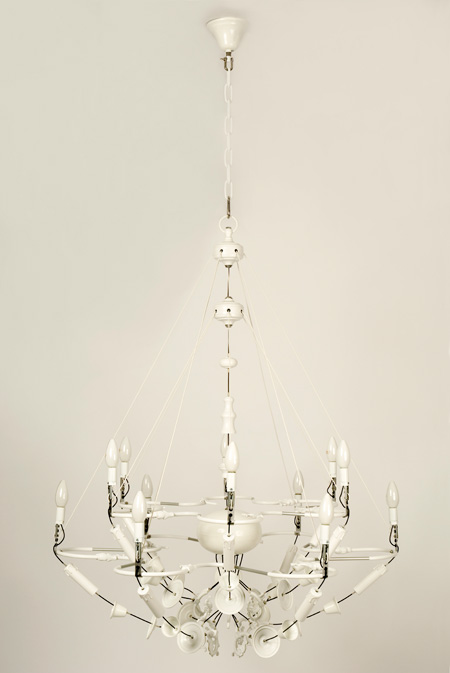 Exploded chandeliers by Ward van Gemert – Second Hand Chandeliers