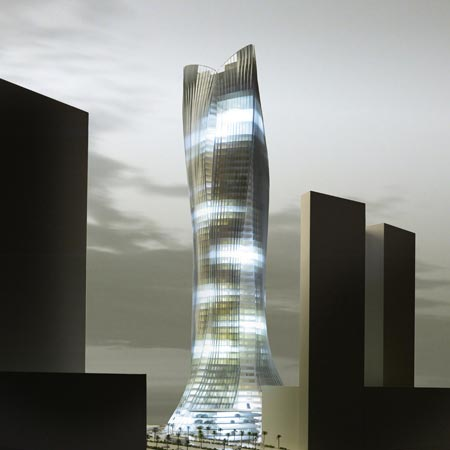 Michael Schumacher World Champion Tower by LAVA