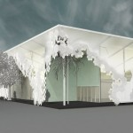 Design Miami temporary structure by Aranda\Lasch