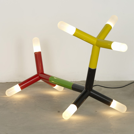 Tetra light by Peter Liversidge and Asif Khan