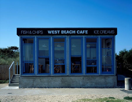 West Beach Cafe by Asif Khan