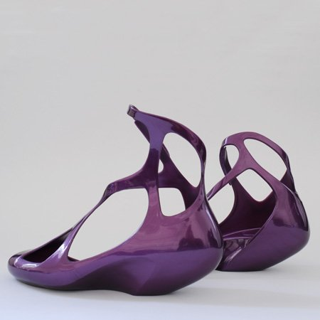 Melissa shoes by Zaha Hadid Architects