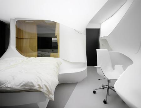 Future Hotel Room By Lava Dezeen