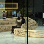 Tokyo Bench by Gehry Partners