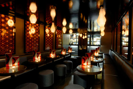 Inamo restaurant by blacksheep for Restaurant design london