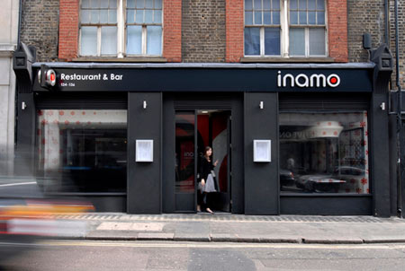 Inamo restaurant by Blacksheep
