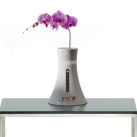 Wireless router vase by STC