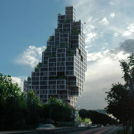 Rødovre Skyscraper by MVRDV and ADEPT