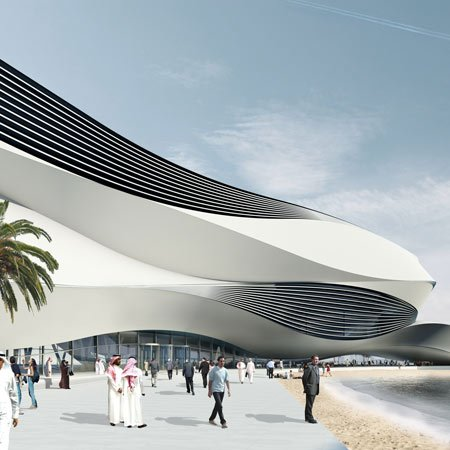 Museum Of Middle Eastern Modern Art By UNStudio
