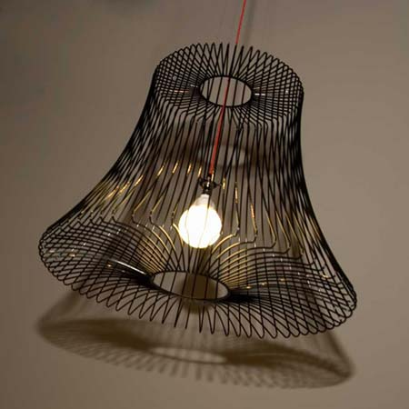Wire Lighting Collection by Deadgood