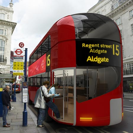 A New Bus for London by Aston Martin and Foster + Partners