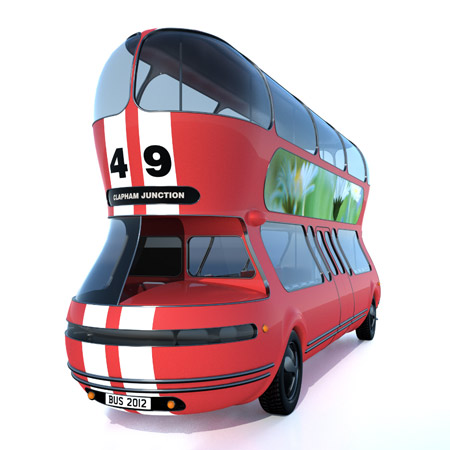 Here's another entry from the New Bus for London competition,